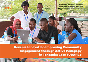 Reverse Innovation Improving Community Engagement through Active Pedagogy in Tanzania: Case TUDARCo