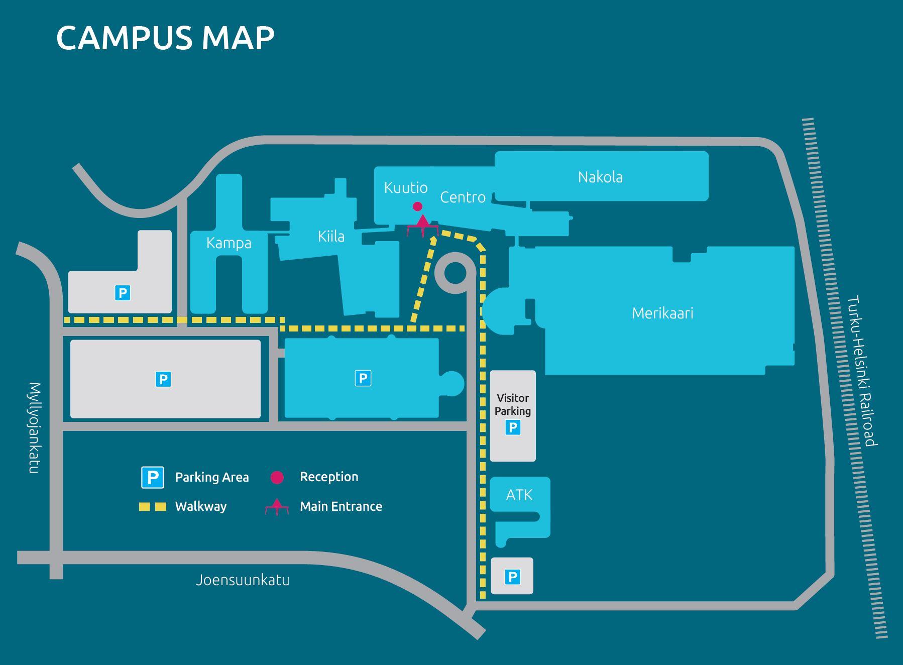 Salo Iot Campus Turun Ammattikorkeakoulu